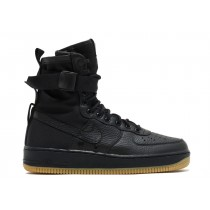 "SF Air Force 1 ""Negras Gum""- Nike - 864024 001"