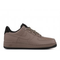 Hombre Nike Air Force 1 Low '07 Oscuro Mushroom Negras 315122-213