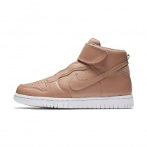 Nike Mujer dunk hi ease dusted clay, Blancas 896187-200