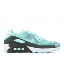 Nike Air Max 90 Ultra 2.0 Flyknit Medium Verdes - 875943-301
