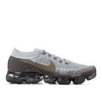 """NikeLab Air VaporMax Flyknit """"Gris Olive"""" 899472-009 Mujer"""