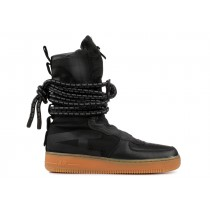 "SF Air Force 1 High ""Negras Gum""- Nike - AA1128 001"