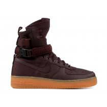 Nike SF AIR FORCE 1 (Burgundy) - 864024-600