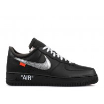"Off-White x MoMA x Air Force 1 07 ""Negras""- Nike - AV5210 001"