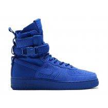 Nike SF Air Force 1 Azules Suede 864024-401