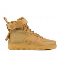 "Mujer SF Air Force 1 Mid ""Elemental Oro""- Nike - AA3966 700"