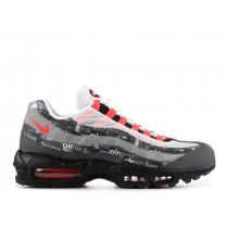 Air Max 95 Atmos We Love Nike (Bright Crimson) - AQ0925-002