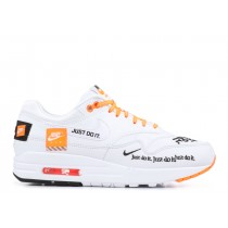 Nike Mujer Air Max 1 Just Do It Blancas 917691-100