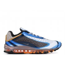 Nike Air Max Deluxe Photo Azules Naranjas Peel AJ7831-401