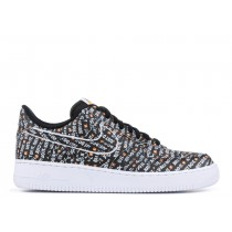 Air Force 1 Low Just Do It Pack Negras - AO6296-001