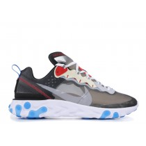 Nike React Element 87 Oscuro Gris Photo Azules - AQ1090-003