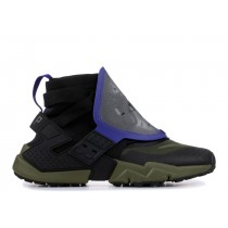Air Huarache Gripp Negras Olive Canvas - AT0298-001