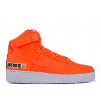 "Nike Air Force 1 High ""Just Do It"" Total Naranjas/Blancas-Negras BQ7925-800"