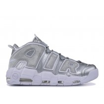 Nike Air More Uptempo Metallic Plata 917593-003