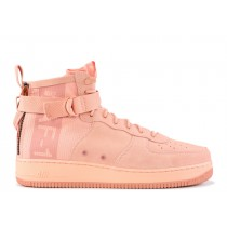 SF Air Force 1 Mid Coral Stardust - AJ9502-600