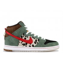 "Nike SB Dunk High PRO QS ""WALK THE DOG"" - BQ6827-300"