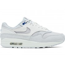 Air Max 1 Pure Platinum Racer Azules - 875844-011