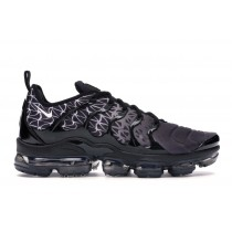Air VaporMax Plus Geometric Negras Blancas - 924453-017