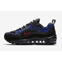 Air Max 98 Negras Leopard Mujer - BV1978-001