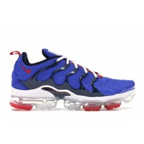 Air VaporMax Plus Racer Azules University Rojas - CJ0553-400