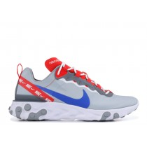 Nike React Element 55 Wolf Gris Game Real Habanero Rojas - CD7340-001