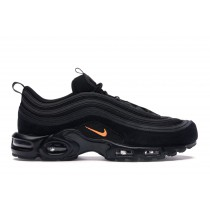Air Max Plus 97 Negras Hyper Crimson - CD7862-001