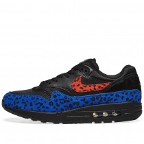 Air Max 1 Negras Leopard Mujer - BV1977-001