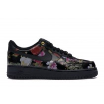 Air Force 1 Low Negras Floral Mujer - AO1017-002