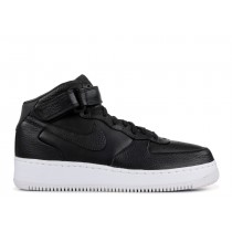 NIKELAB AIR FORCE 1 MID Negras, Negras-Blancas - 849677-002