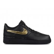 AIR FORCE 1 '07 Negras, Oro - ci0064-001