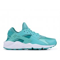 AIR HUARACHE RUN washed teal, rio teal, Blancas - 634835-302