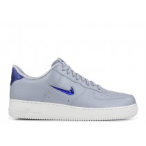 AIR FORCE 1 '07 LV8 LTHR wolf Gris, deep Real-Azules - aj9507-002