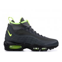 AIR MAX 95 SNEAKERBOOT anthracite, volt-dark Gris - 806809-003