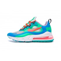 Nike Air Max 270 React Mujer Electro Verdes Lagoon - AT6174-300