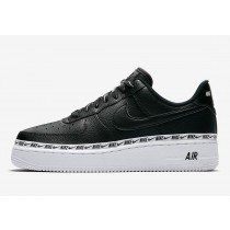 "Nike Air Force 1 Low Mujer ""Ribbon Pack"" Negras AH6827-002"