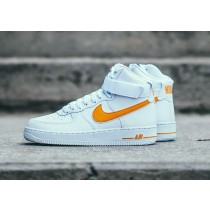 Nike Air Force 1 High Blancas University Oro AT4141-101