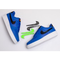 Nike Air Force 1 Low Racer Azules Vapor Verdes CI0064-400