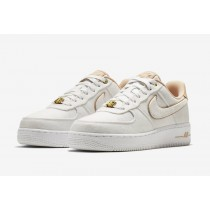 Nike Air Force 1 Lux Blancas Metallic Oro Bio Beige 898889-102