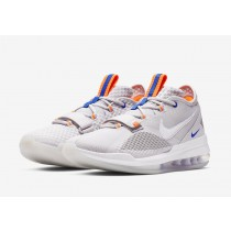Nike Air Force Max Low Gris Total Naranjas BV0651-005