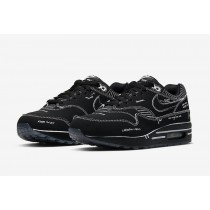 Nike Air Max 1 Tinker Negras Schematic Sketch To Shelf CJ4286-001