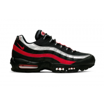 Nike Air Max 95 Negras University Rojas Metallic Plata CQ9704-001