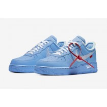 Off-White Nike Air Force 1 Low MCA University Azules CI1173-400