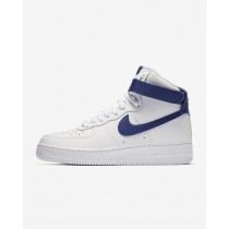 Nike Air Force 1 High 08 LE Blancas/Blancas/Profundo Real Azules 334031-108