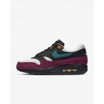 Nike Air Max 1 Mujer - Negras-Geode Teal - 319986-040
