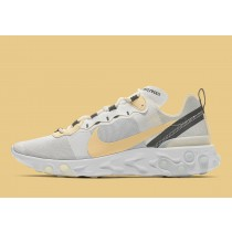 Nike React Element 55 Soft Amarillas BQ6166-101