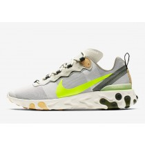 Nike React Element 55 Gris Volt | BQ6166-009