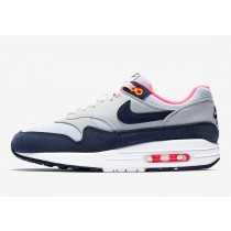 Air Max 1 Pure Platinum Midnight Armada Racer Rosas Mujer - 319986-116
