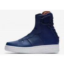 Nike Air Force 1 Rebel XX Azules Volt/Blancas-Oscuro Russet AO1525-401