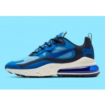 "Nike Air Max 270 React ""Triple Azules"" CI3866-400"