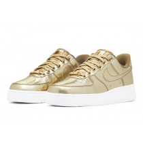 "Nike Air Force 1 SP Mujer ""Liquid Oro"" CQ6566-700"